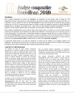 Analyses comparatives : Bouvillons d'abattage